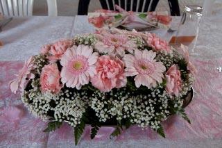 Blomsterdeko flad