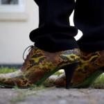 Slangeskinds sko