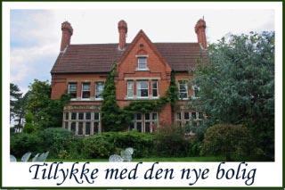 Kort tillykke nyt hus