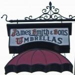 Sign for umbrellastore